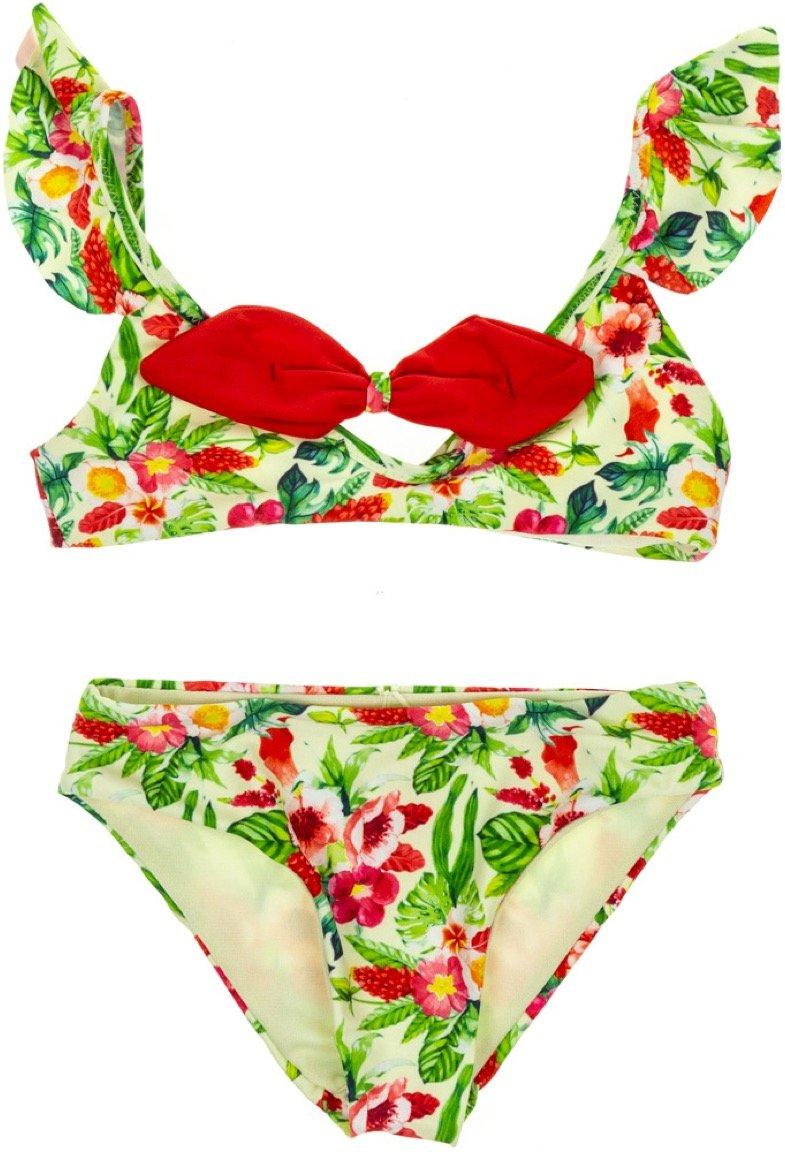 Hello Bikini παιδικό μαγιό μπικίνι «Green Paradise»