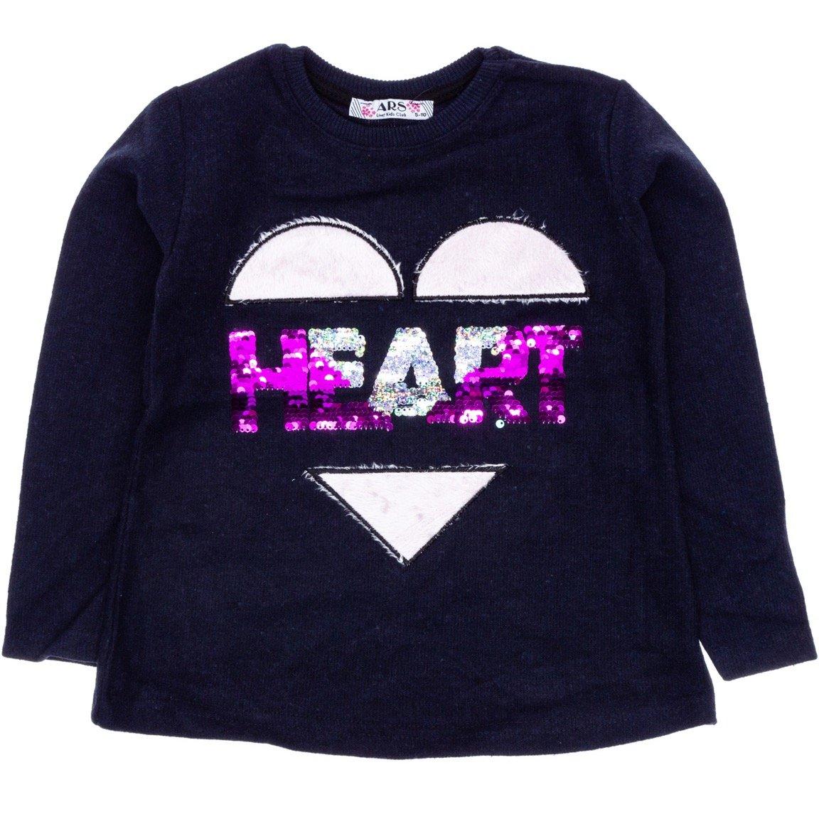 ARS παιδική μπλούζα «Blue Heart»