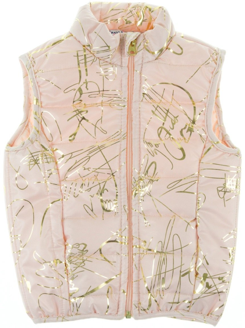 Esterella παιδικό αμάνικο μπουφάν «Pink Intricate»