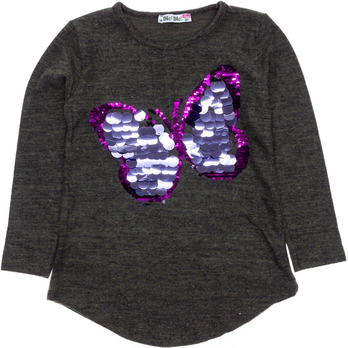 Bici Bici παιδική μπλούζα «Big Butterfly»