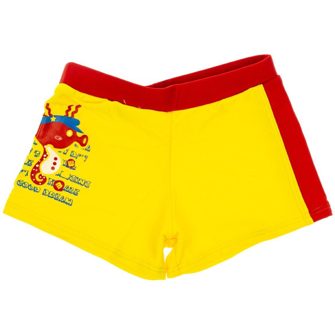 Trendy Boy παιδικό μαγιό σορτς «Yellow Hippocampus»