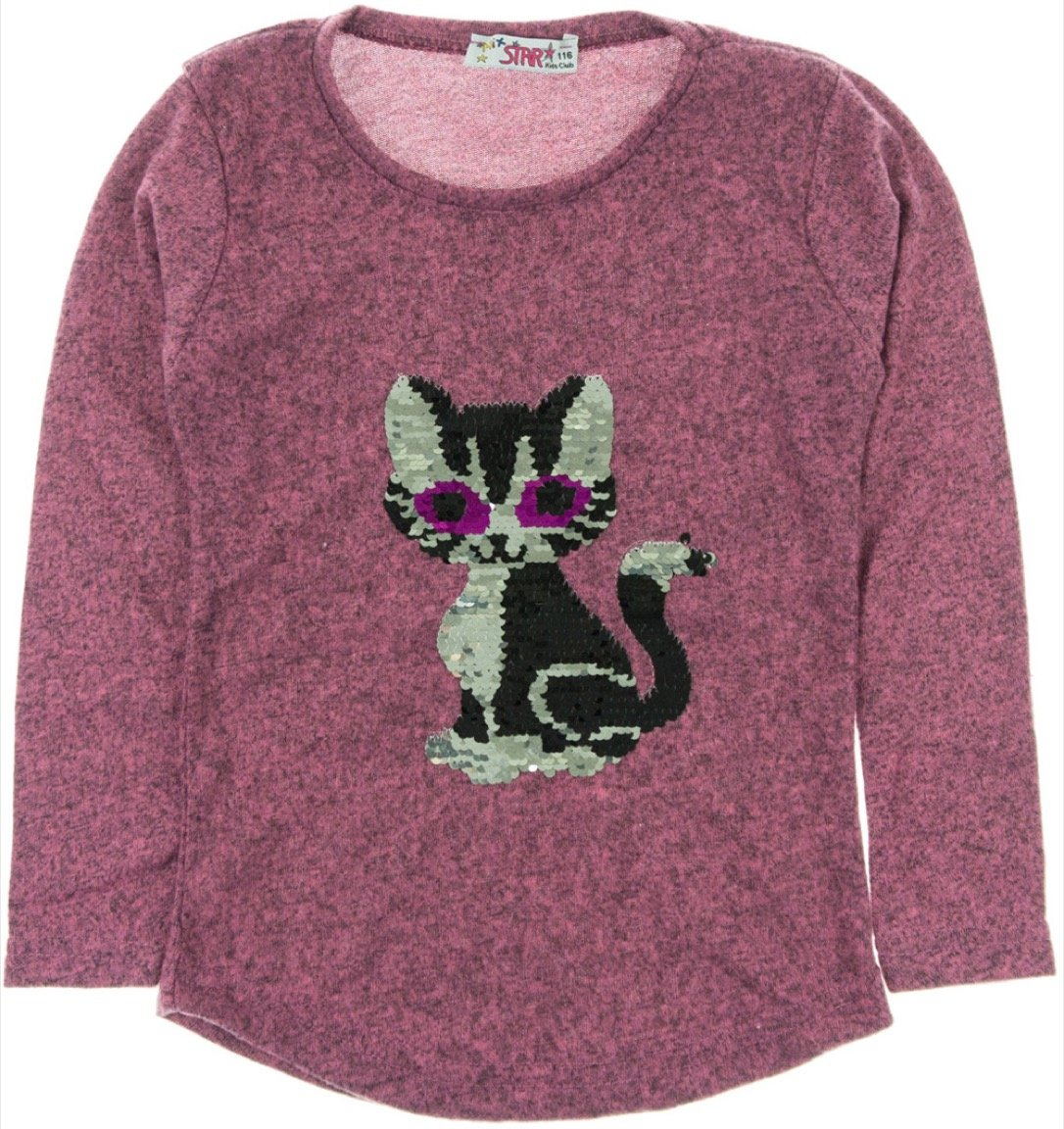 Mix Star παιδική μπλούζα «Fuchsia Cat»