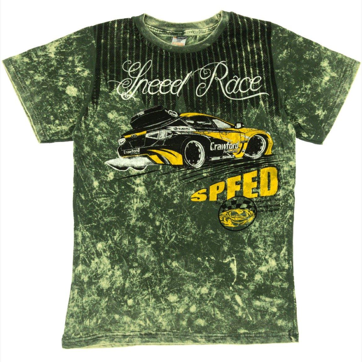 Waxmen παιδική μπλούζα «Green Speed»