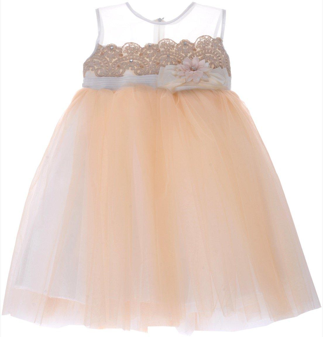 Jojomama παιδικό αμπιγιέ φόρεμα «Luminous» - Παιδικά ρούχα 907748481da