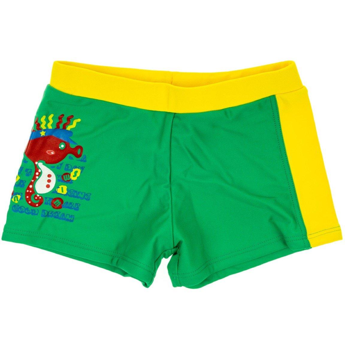 Trendy Boy παιδικό μαγιό σορτς «Green Hippocampus»