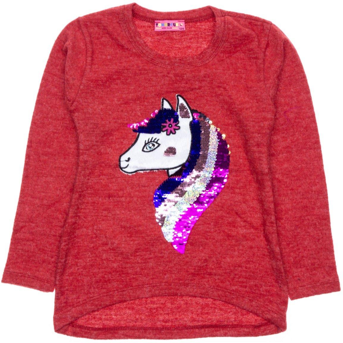 Tomurcuk παιδική μπλούζα «Rainbow Unicorn»