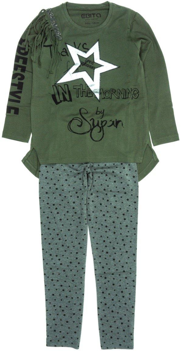 Εβίτα παιδικό εποχιακό σετ μπλούζα-παντελόνι κολάν «Freestyle Star»