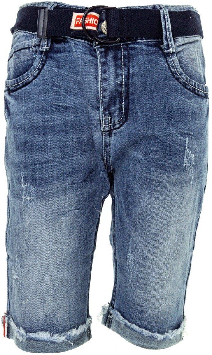 JNS παιδικό παντελόνι βερμούδα τζιν «Slit»