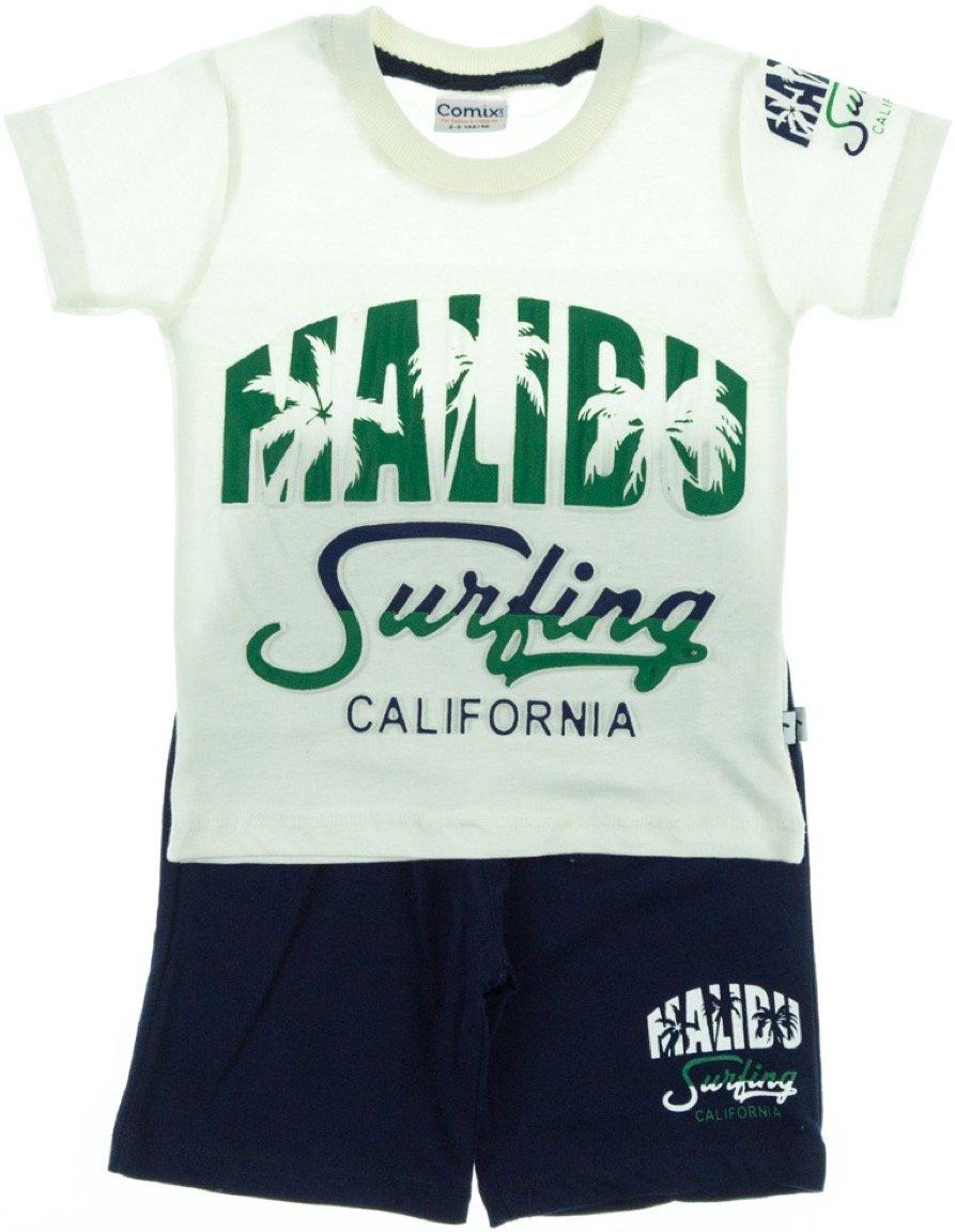 Comix Life παιδικό σετ μπλούζα-παντελόνι βερμούδα «In Malibu»