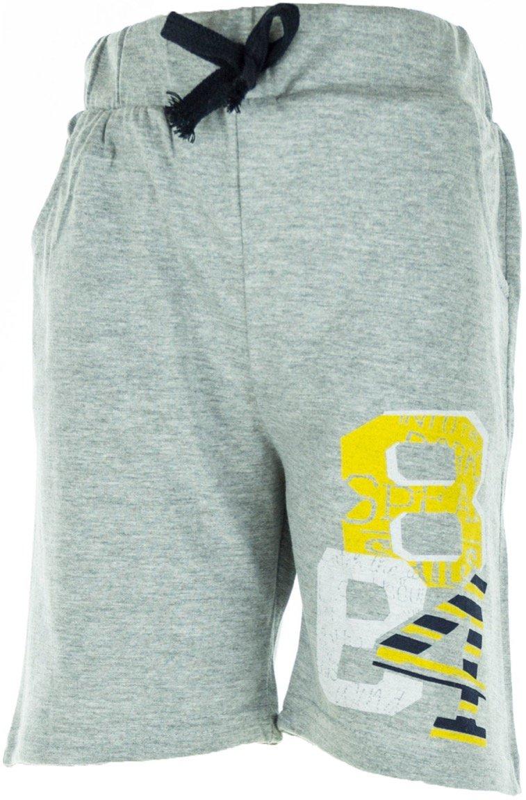 Mago παιδικό παντελόνι βερμούδα «The Grey 84»