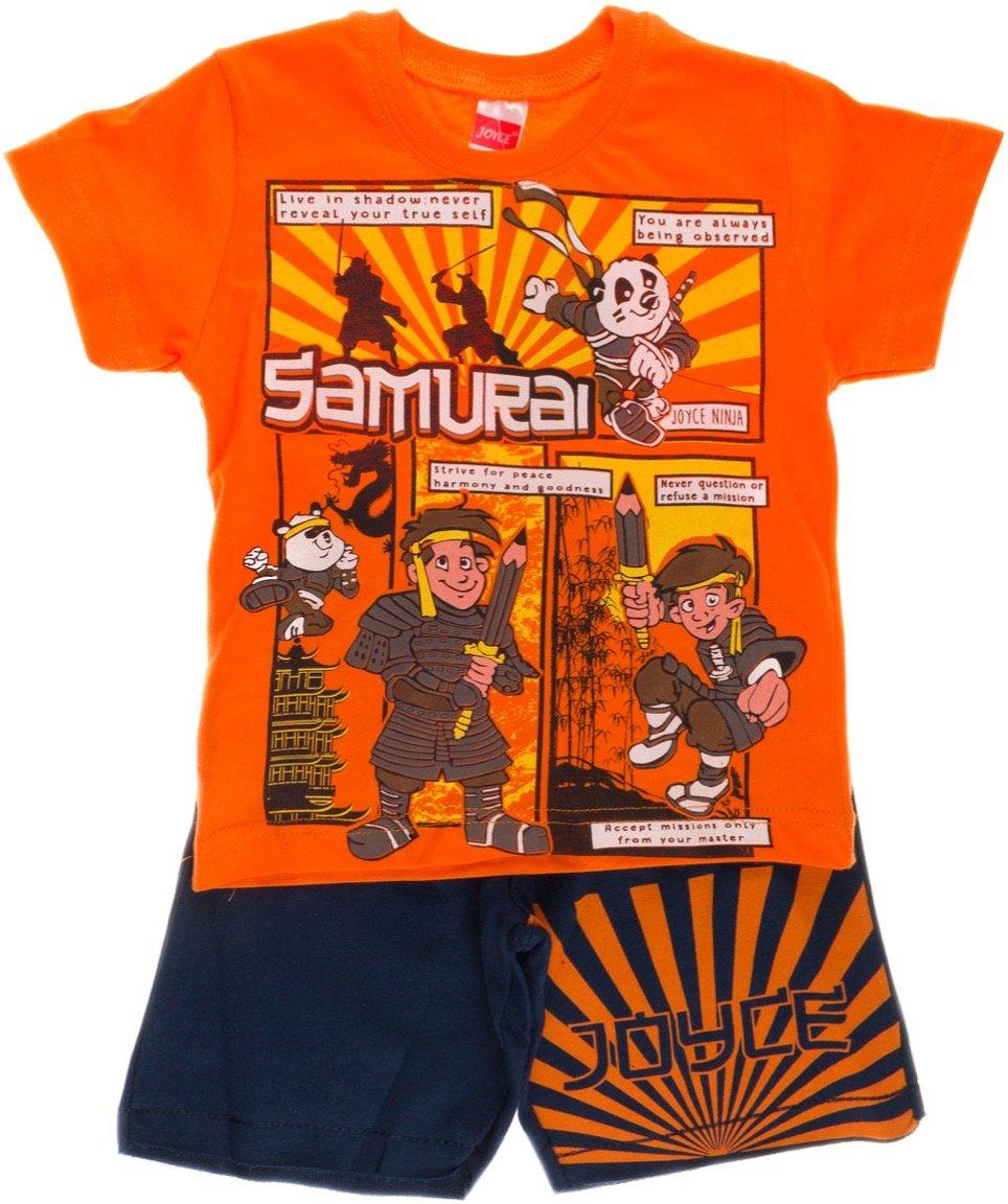 Joyce παιδικό σετ μπλούζα-παντελόνι βερμούδα «Samurai»