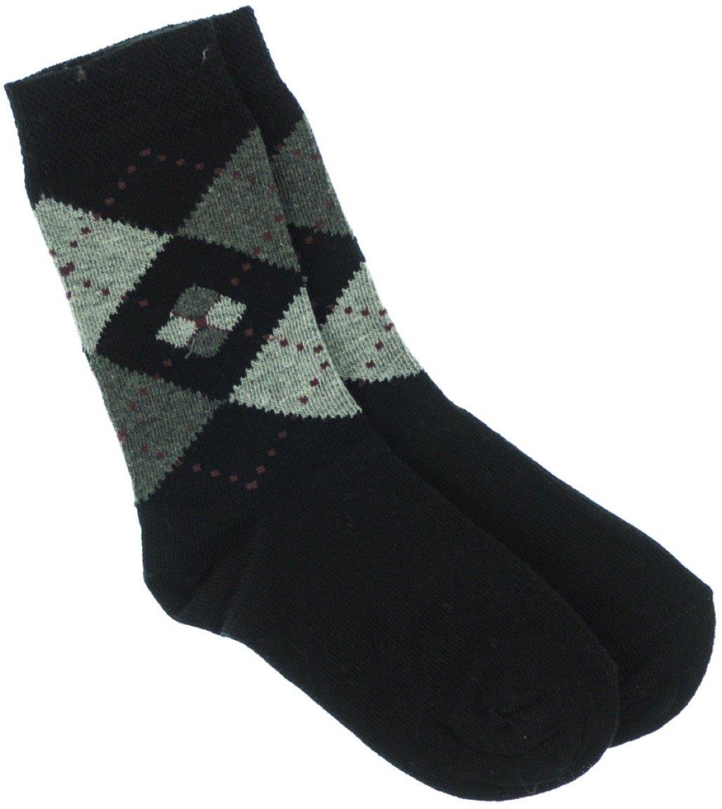 Lateks παιδικές κάλτσες «Black Checkered»
