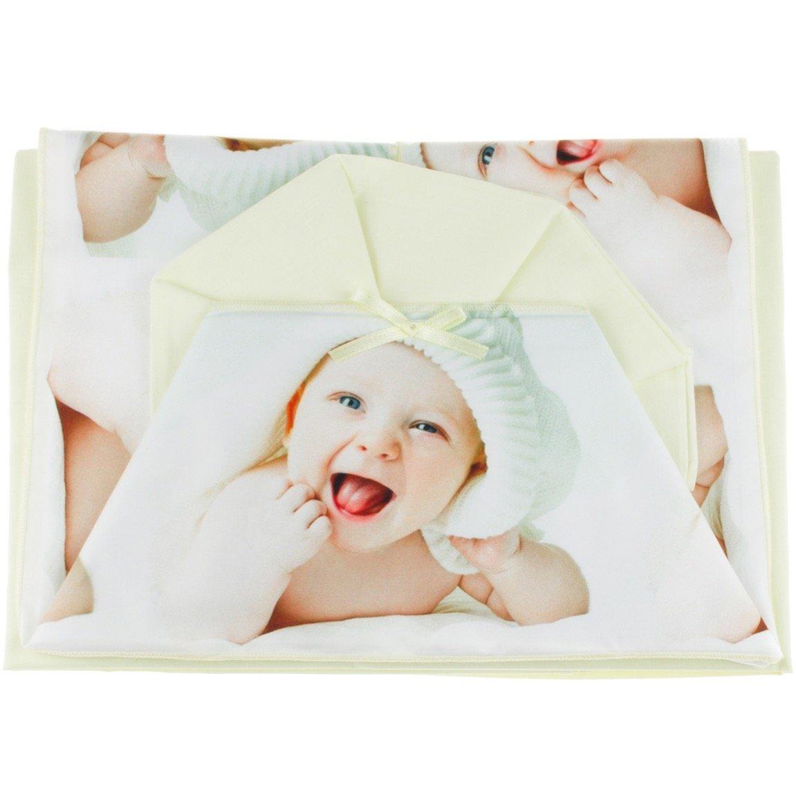 T&R σεντόνια σετ τριών τεμαχίων για παιδικό κρεβάτι (κούνια) «Yellow Cute Babe»