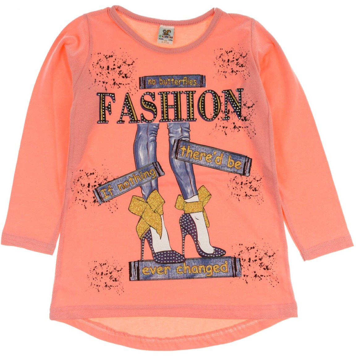 Ecrin παιδική εποχιακή μπλούζα «Somon Fashion»