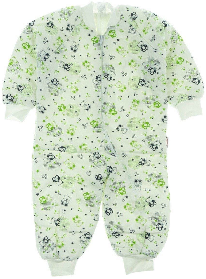 Bebesev παιδικός υπνόσακος «Green Teddies»