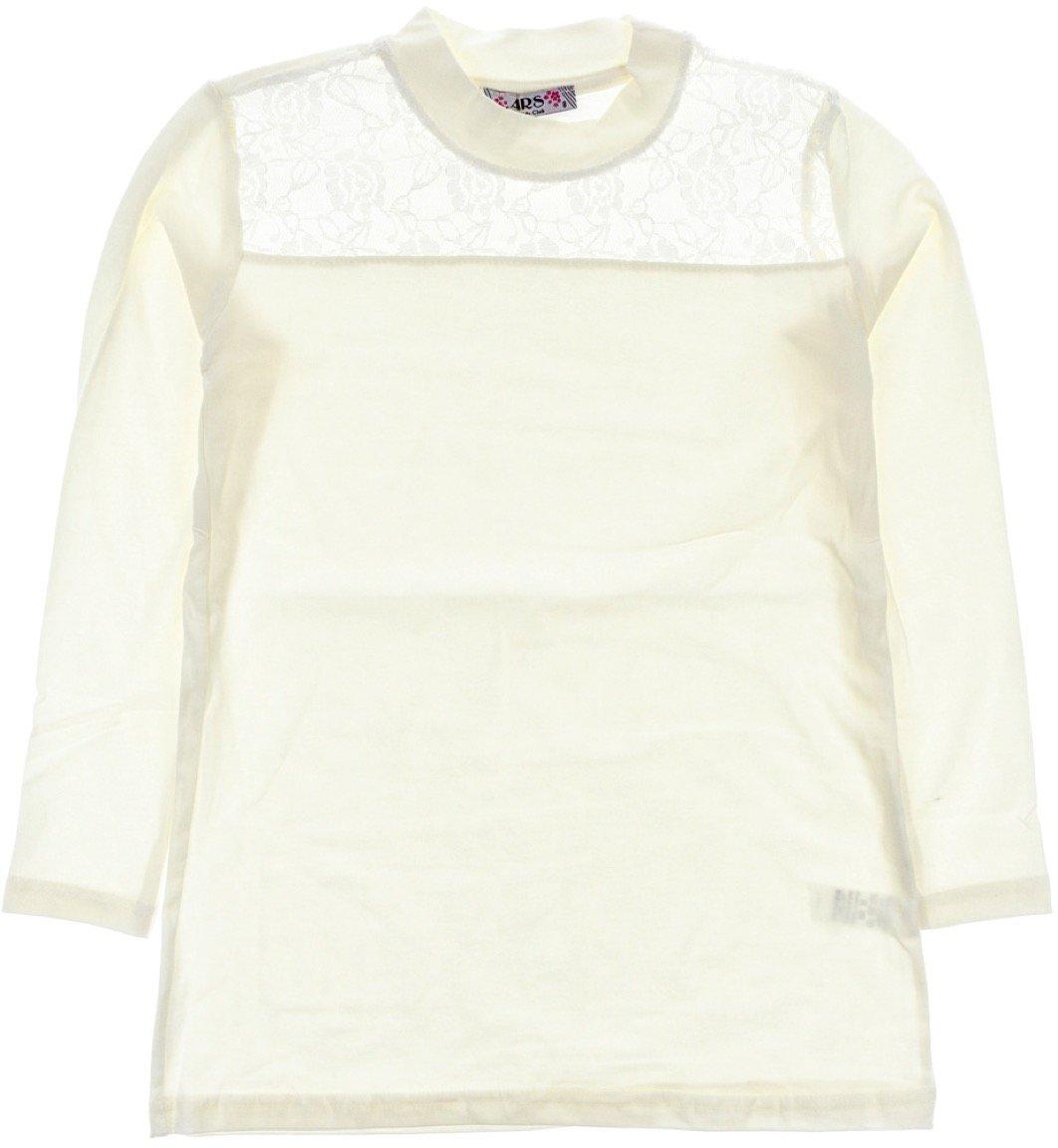 ARS παιδική εποχιακή μπλούζα «Ecru Delicate Lace»