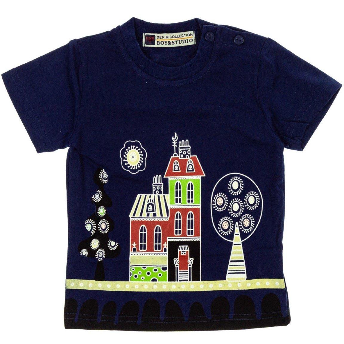 Boy & Studio παιδική μπλούζα «Blue City»