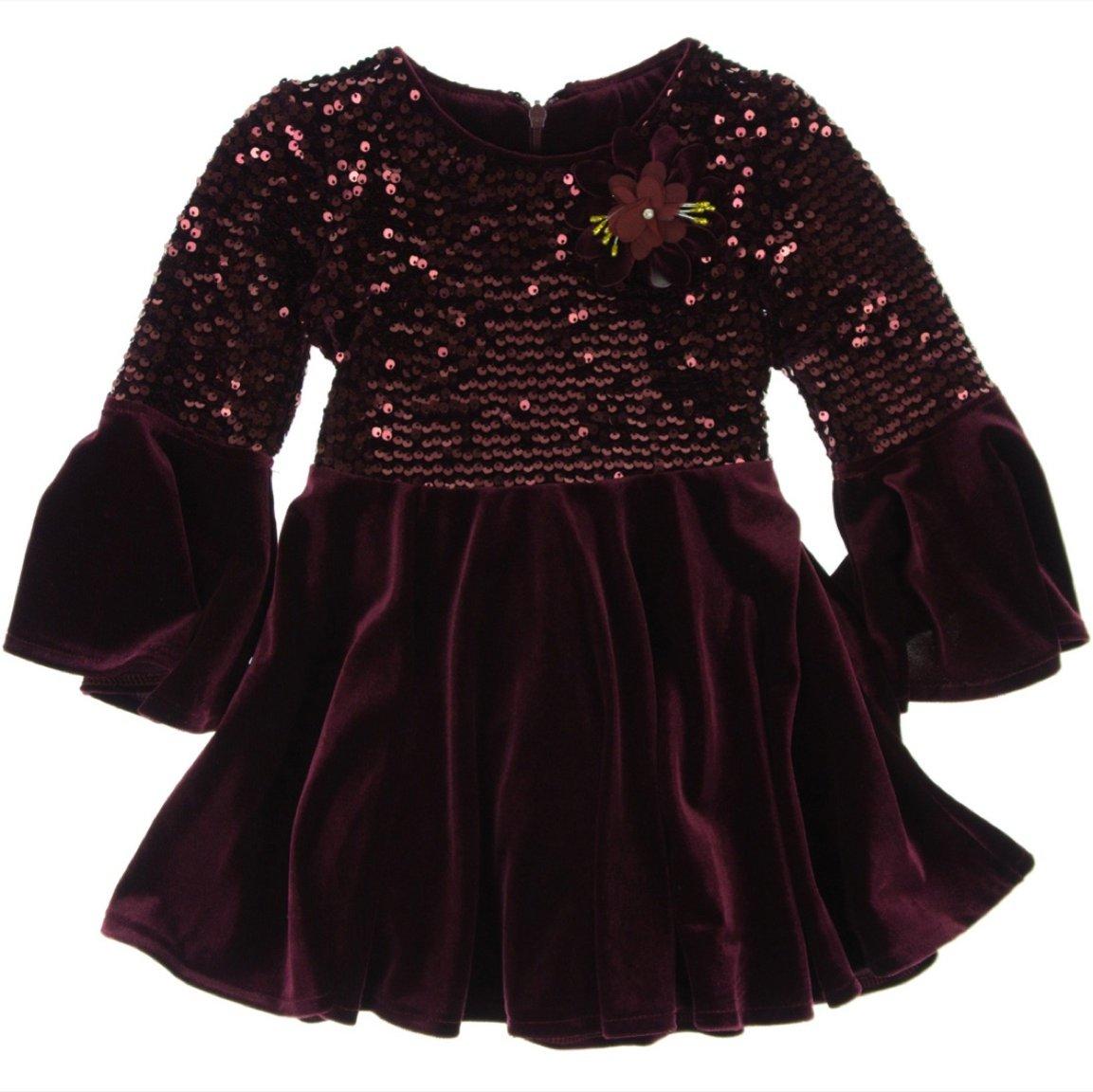 Obella παιδικό αμπιγιέ φόρεμα «Velvet & Ribbon»
