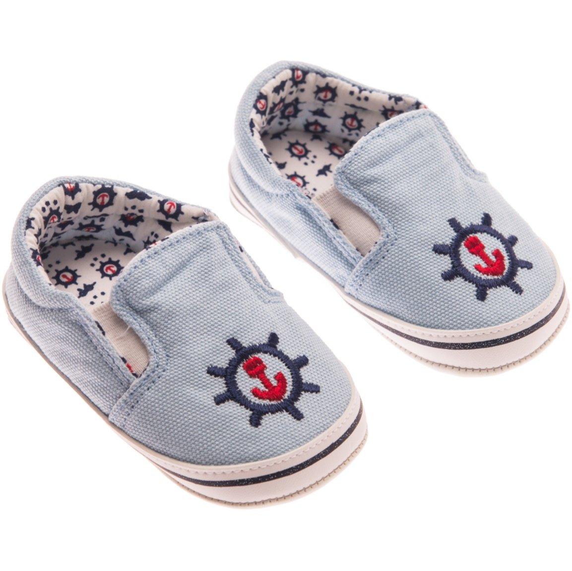 Funny Baby βρεφικά παπουτσάκια αγκαλιάς «Anchor»