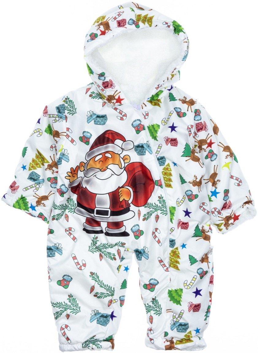 Pantuf βρεφικό φορμάκι εξόδου «Happy Santa»