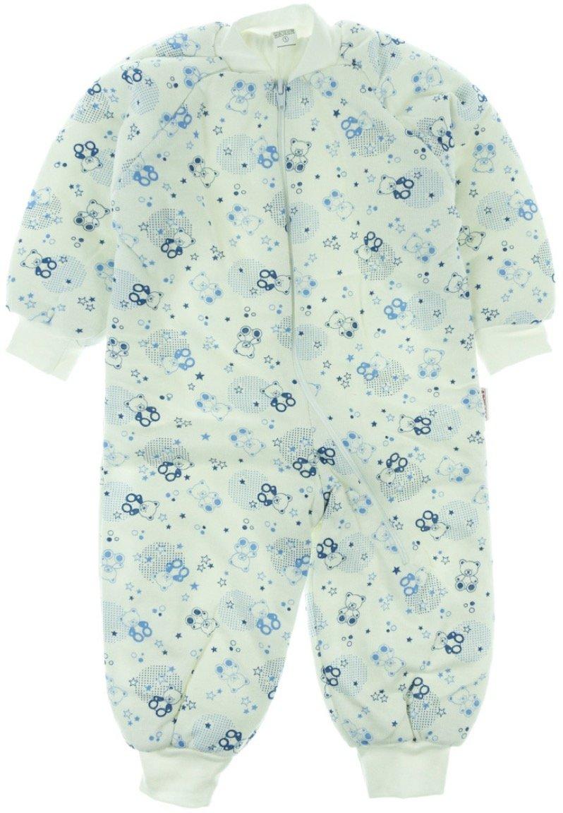 Bebesev παιδικός υπνόσακος «Blue Teddies»