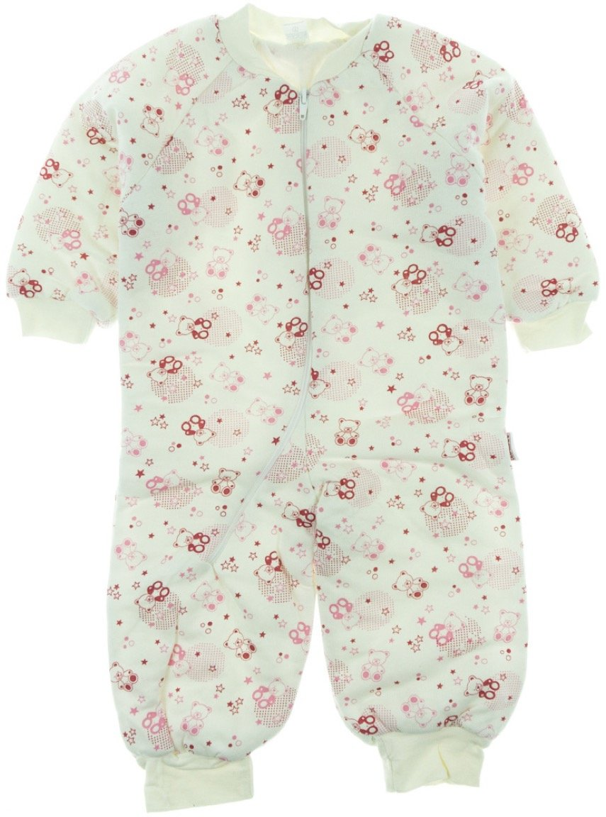 Bebesev παιδικός υπνόσακος «Pink Teddies»