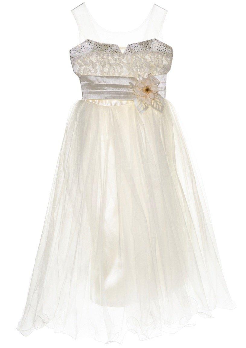 Ken Club παιδικό αμπιγιέ φόρεμα «Crane»