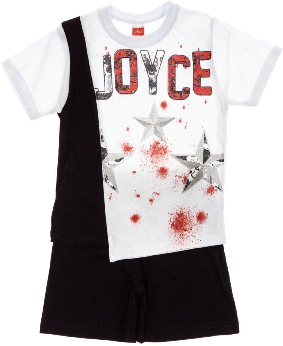 Joyce παιδικό σετ μπλούζα-παντελόνι σορτς «Stars»
