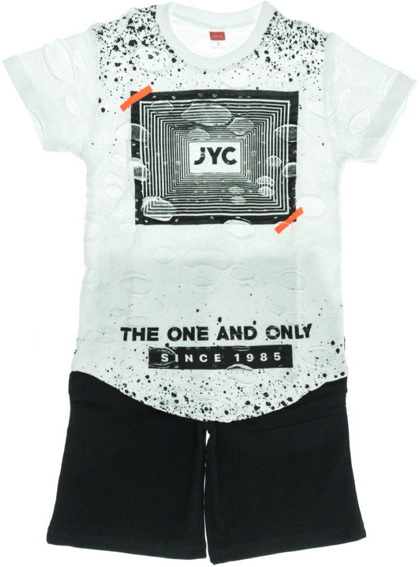 Joyce παιδικό σετ μπλούζα-παντελόνι σορτς βερμούδα «One & Only»