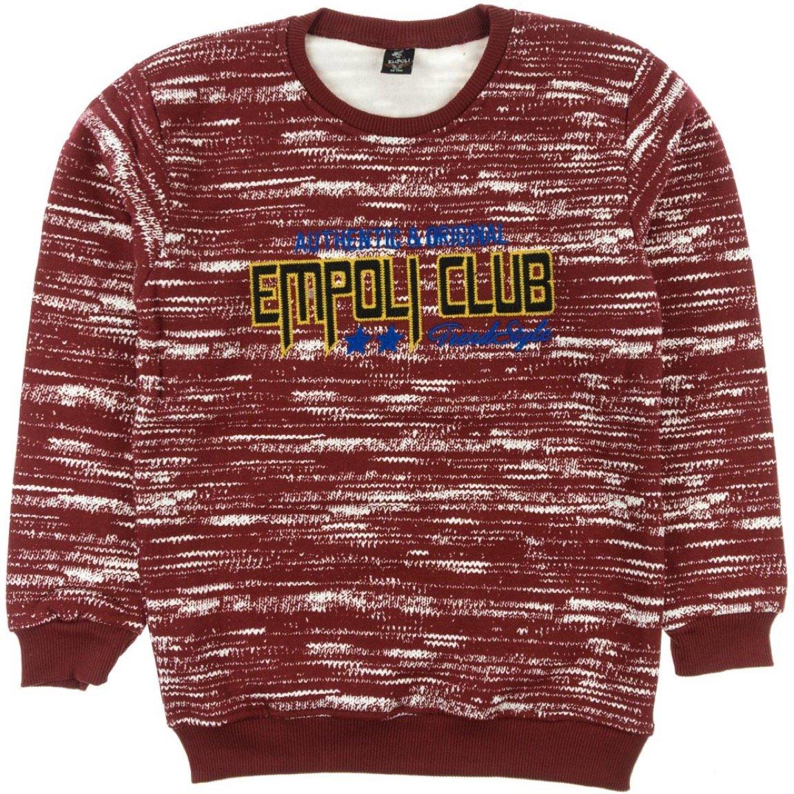 Empoli παιδική μπλούζα φούτερ «Red Style»