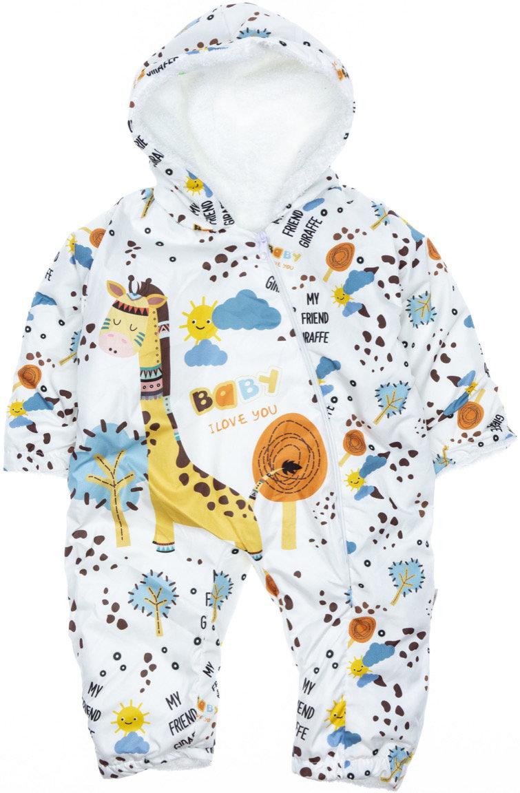 Pantuf βρεφικό φορμάκι εξόδου «My Friend Giraffe»