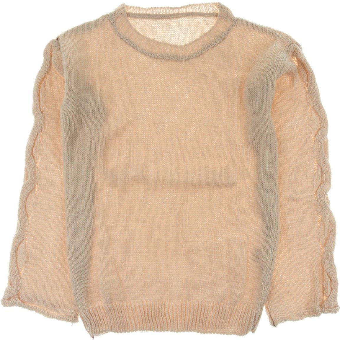 ΑΖ γυναικεία πλεκτή μπλούζα «Pink Dressing Down»