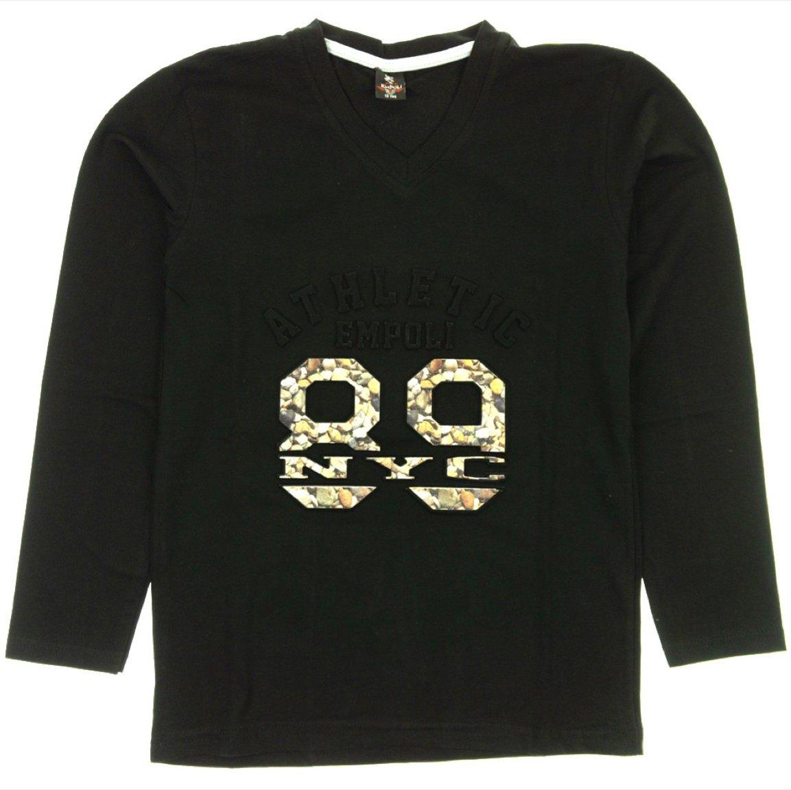Empoli παιδική εποχιακή μπλούζα «Black 89»