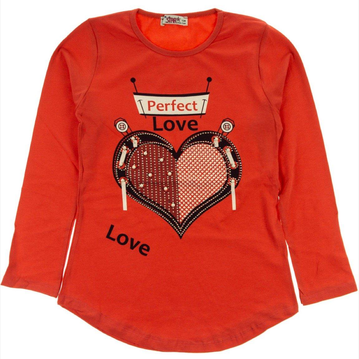Mix Star παιδική εποχιακή μπλούζα «Perfect Love»