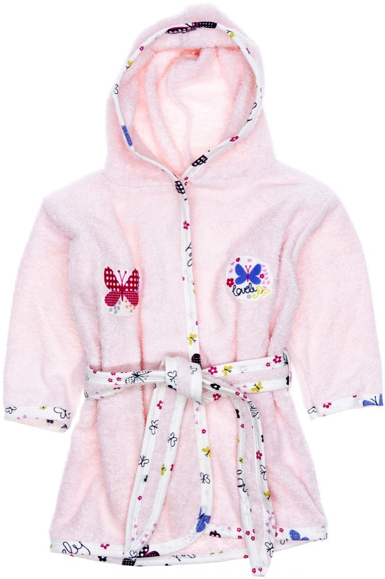 Elma Cocuk παιδικό μπουρνούζι «Lovely Butterfly»