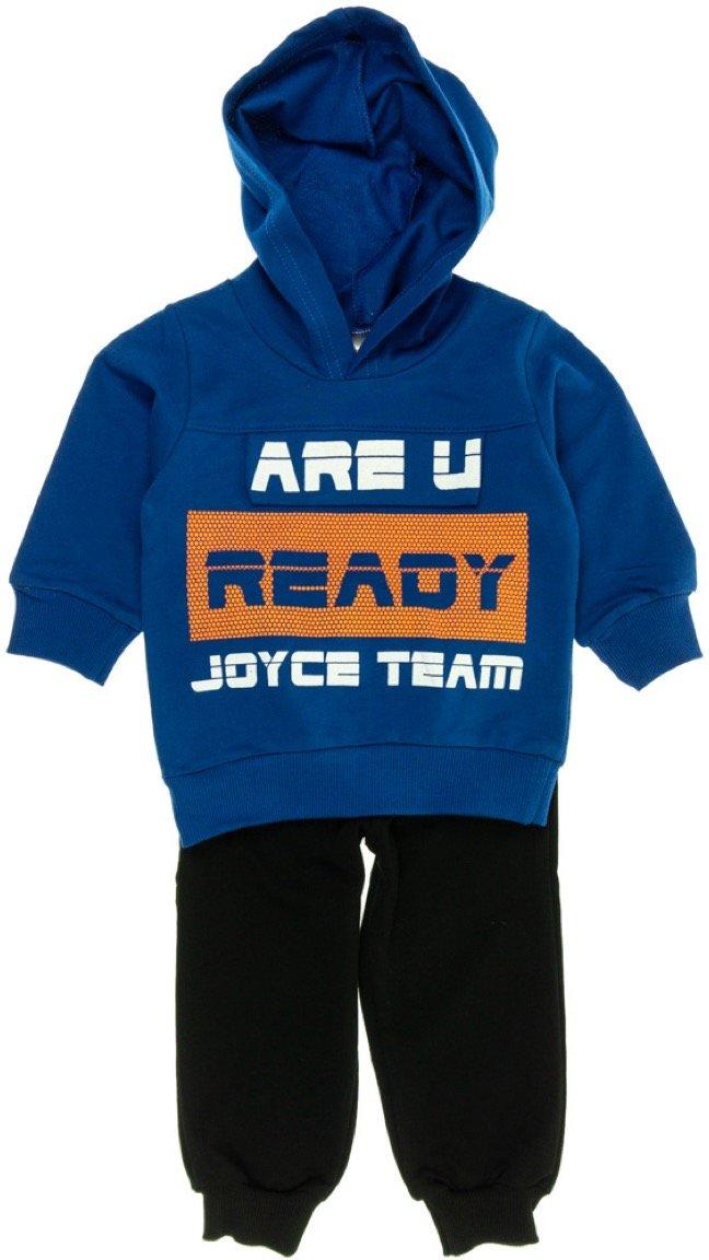 Joyce παιδικό εποχιακό σετ φόρμα μπλούζα-παντελόνι «Are U Ready»