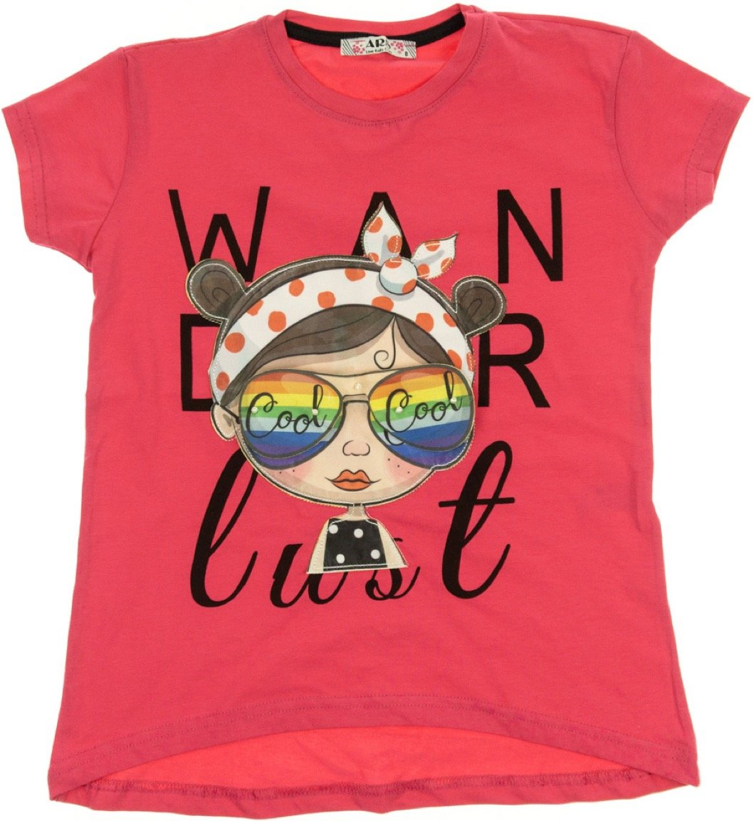 ARS παιδική μπλούζα «Cool Girl 3D»