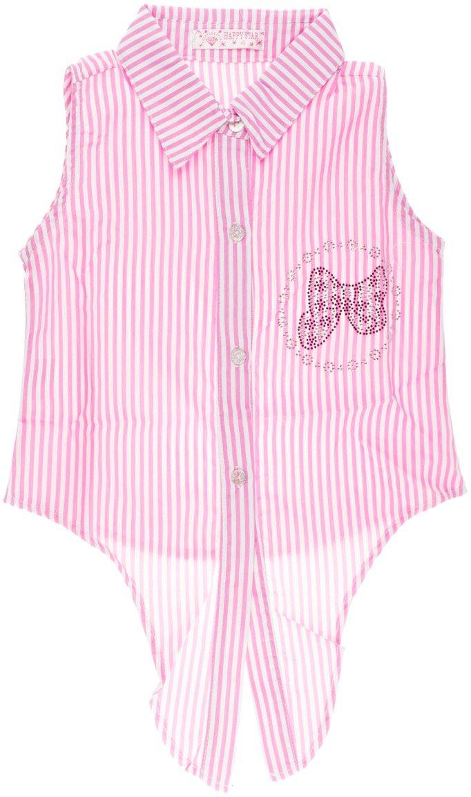 Happy Star παιδική πουκαμίσα «Pink Stripes»