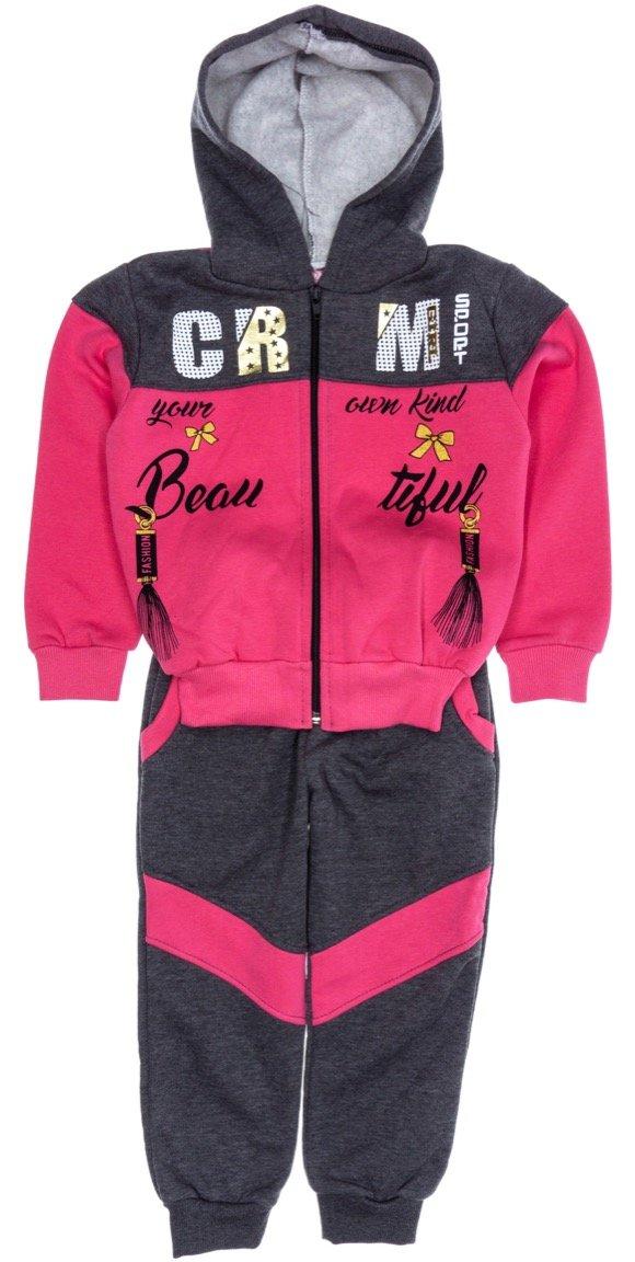 Carmina παιδικό σετ φόρμα ζακέτα-παντελόνι «Fashion Beautiful»