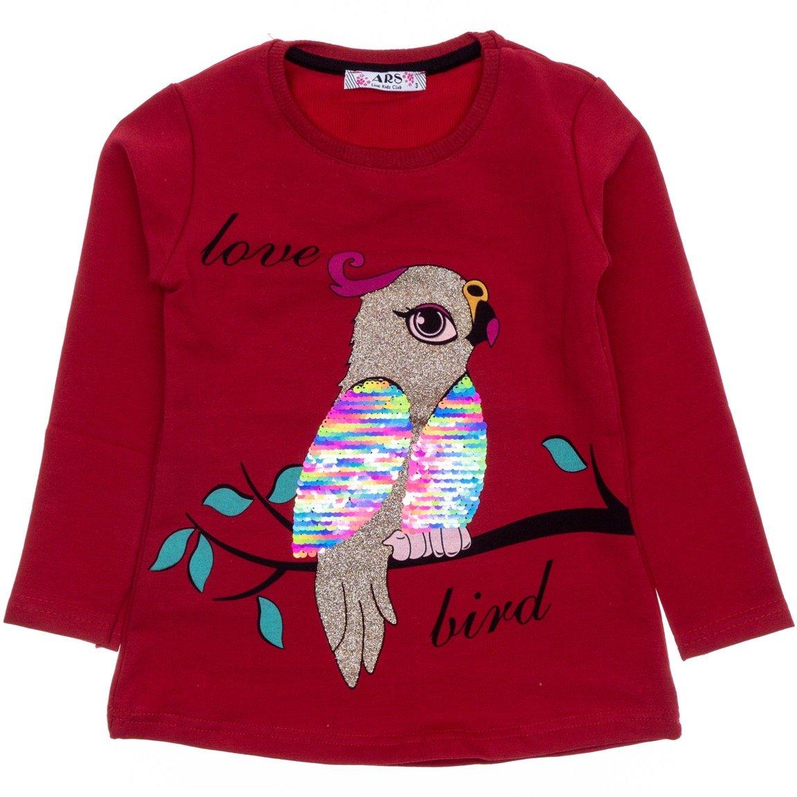 ARS παιδική εποχιακή μπλούζα «Love Bird»