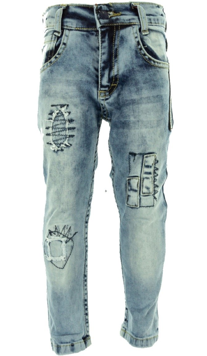 SLM παιδικό παντελόνι τζιν «Nice Blue»