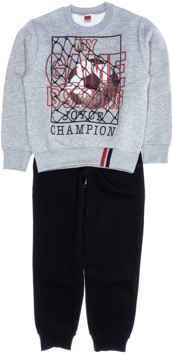 Joyce παιδικό σετ φόρμα μπλούζα-παντελόνι «My Strong Game»
