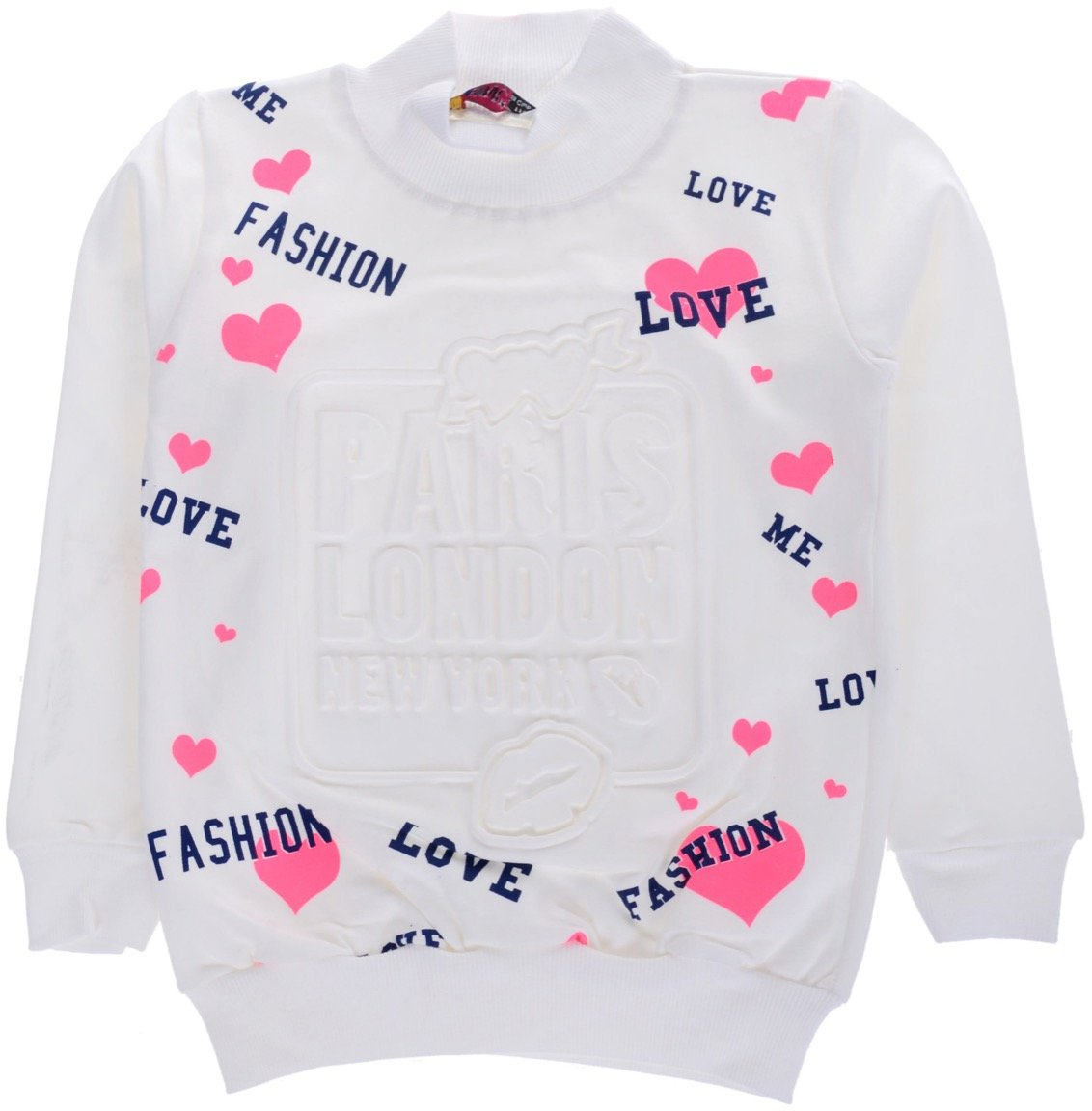 Mix Star παιδική μπλούζα ζιβάγκο «Fashion & Love»