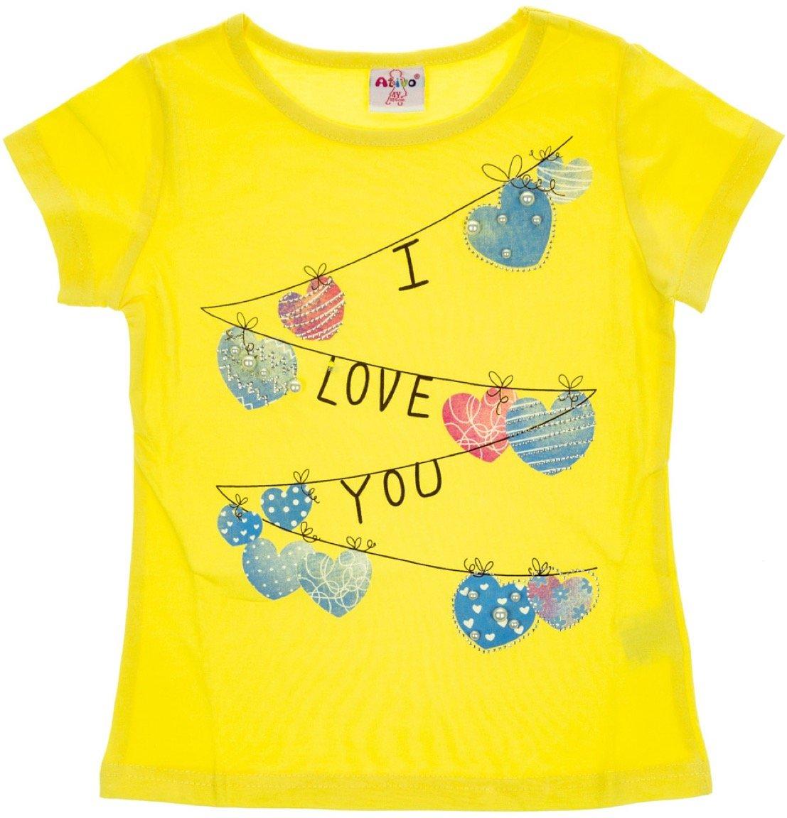 Ativo παιδική μπλούζα «Love You»