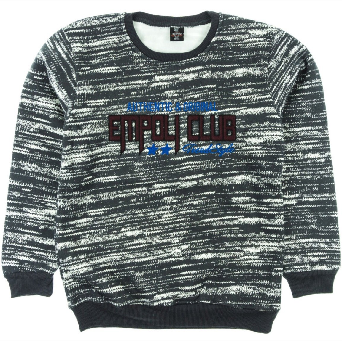 Empoli παιδική μπλούζα φούτερ «Grey Style»