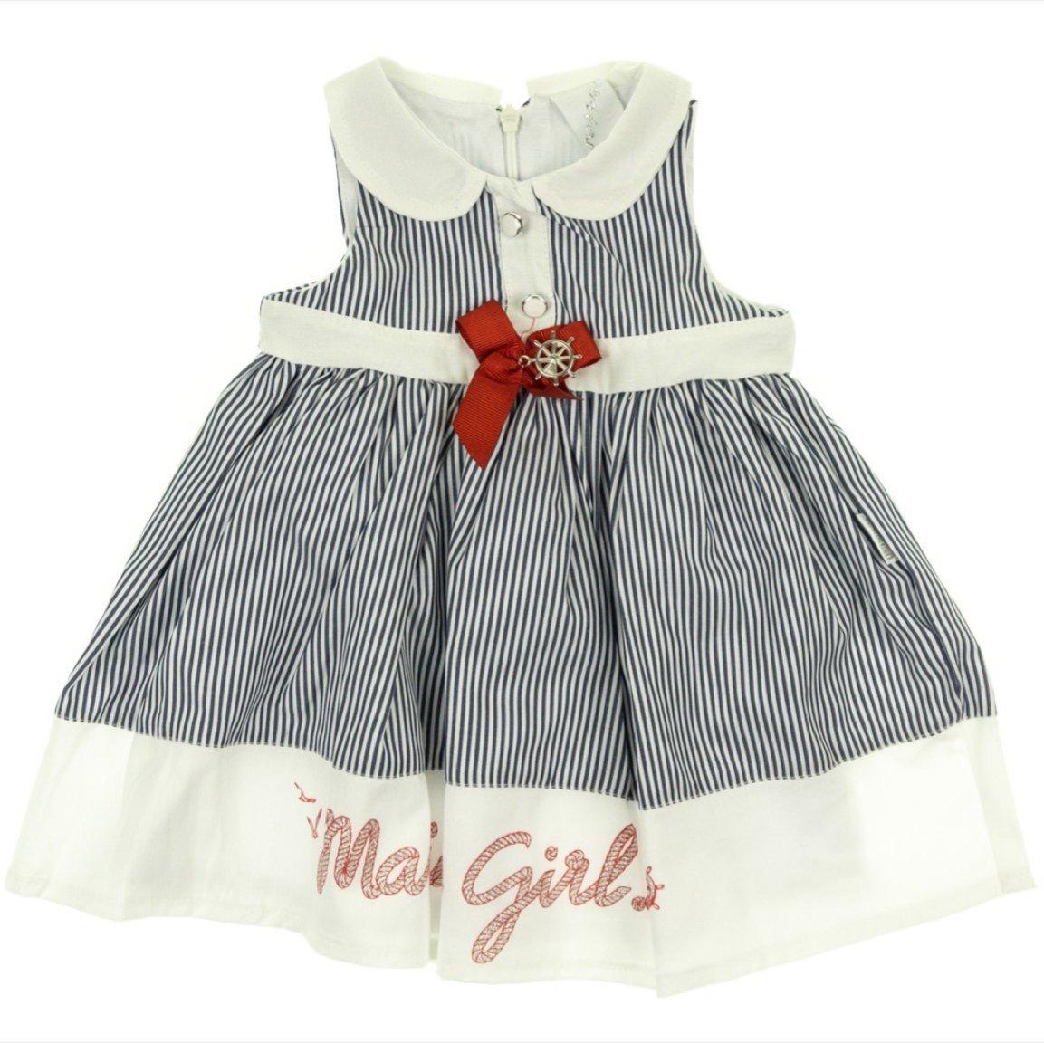 Sermino παιδικό φόρεμα «Marine Girl»