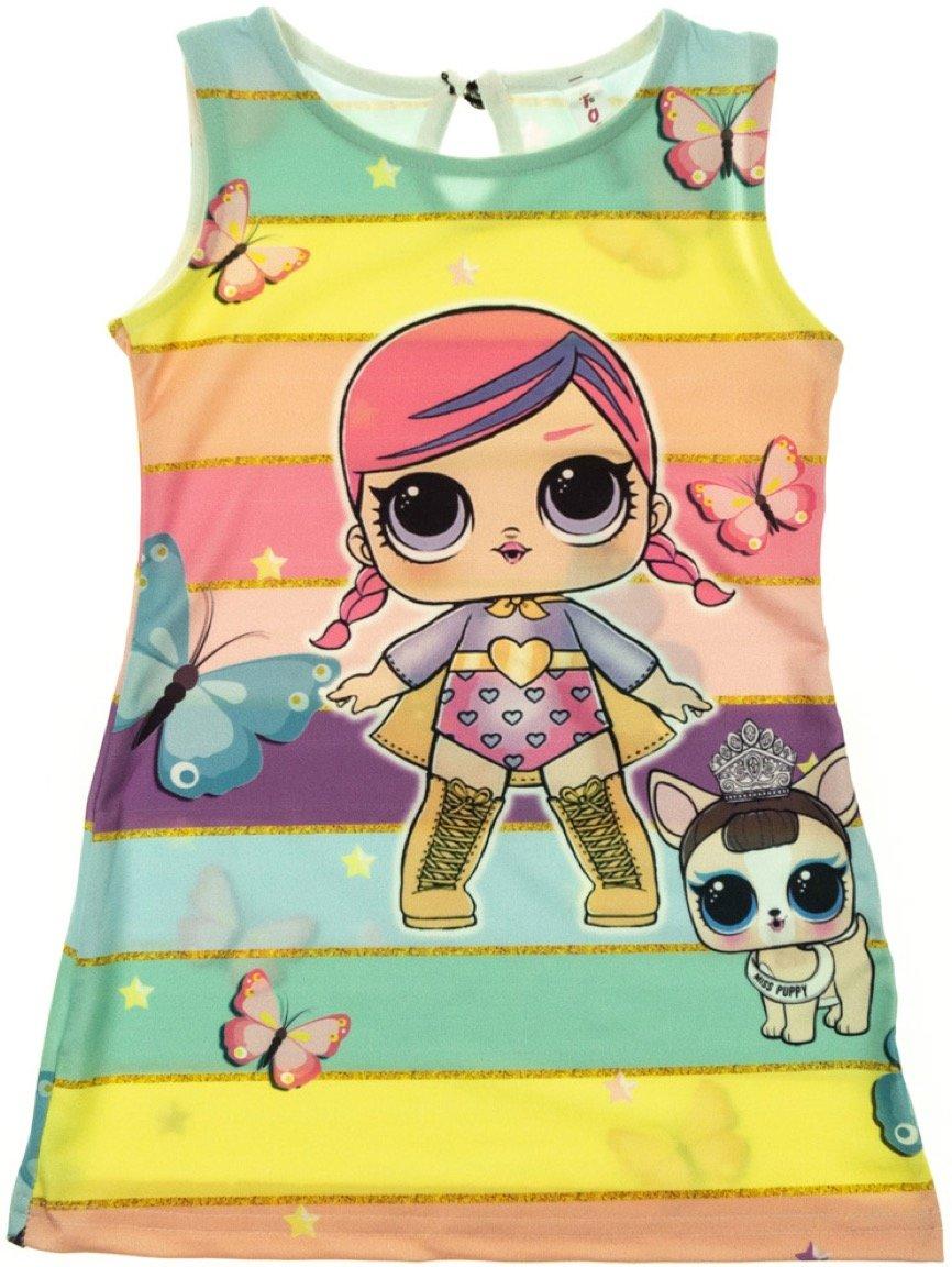 Tocka παιδικό φόρεμα «Super Girl»