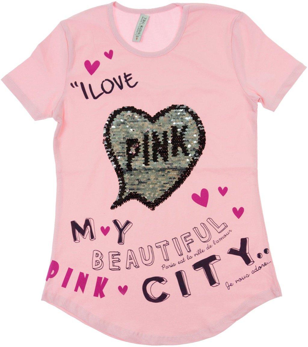 "TRG παιδική μπλούζα ""Pink Beautiful City"""
