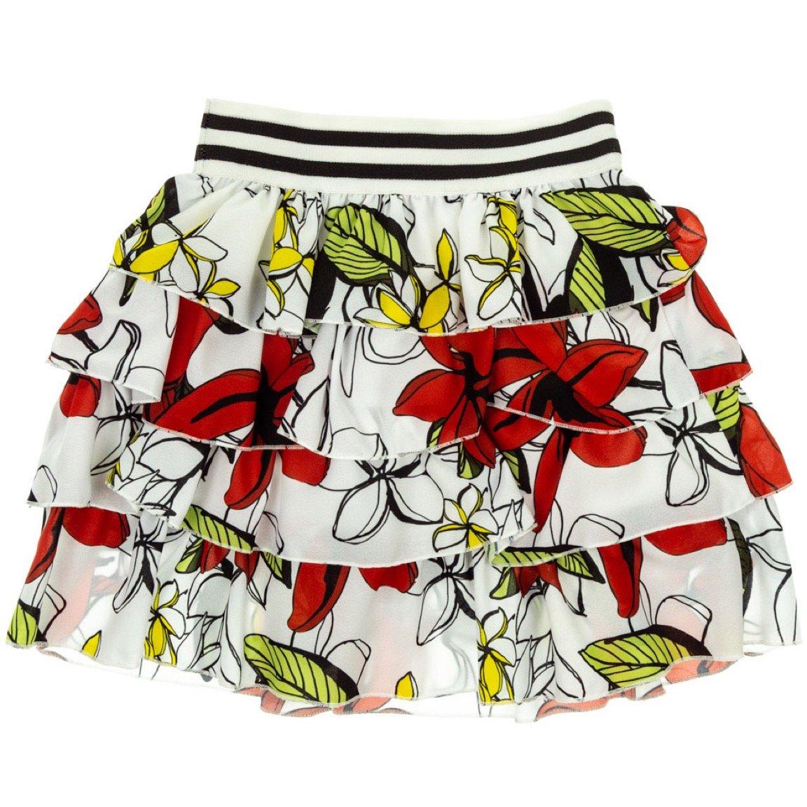 Dafny παιδική φούστα «Summer Flowers»