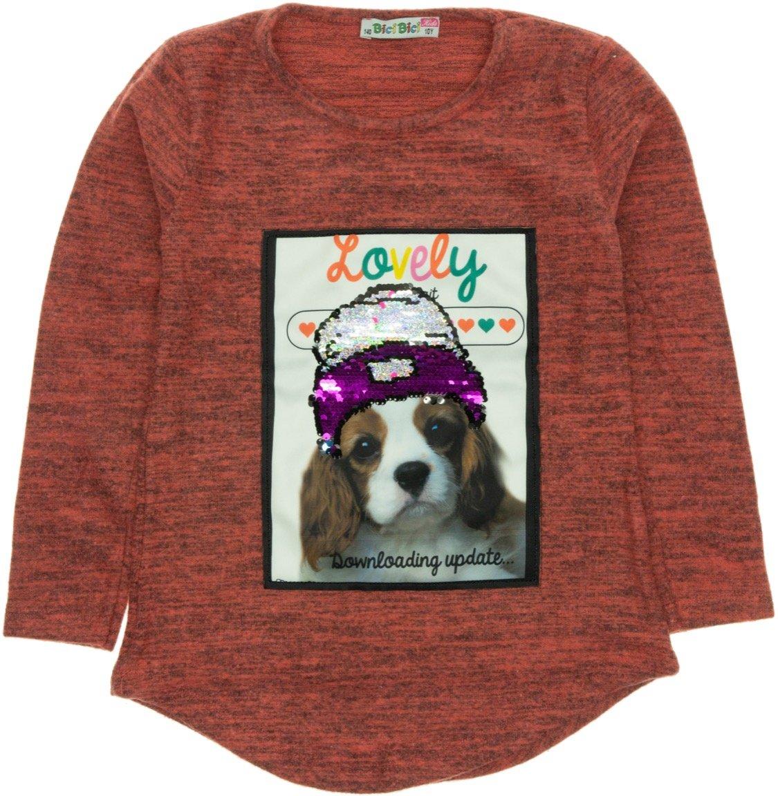 Bici Bici παιδική μπλούζα «Lovely Dog»
